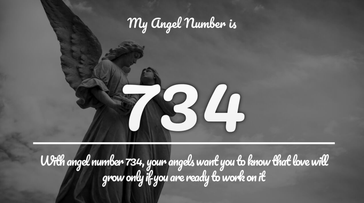 Angel number 734 and its meaning