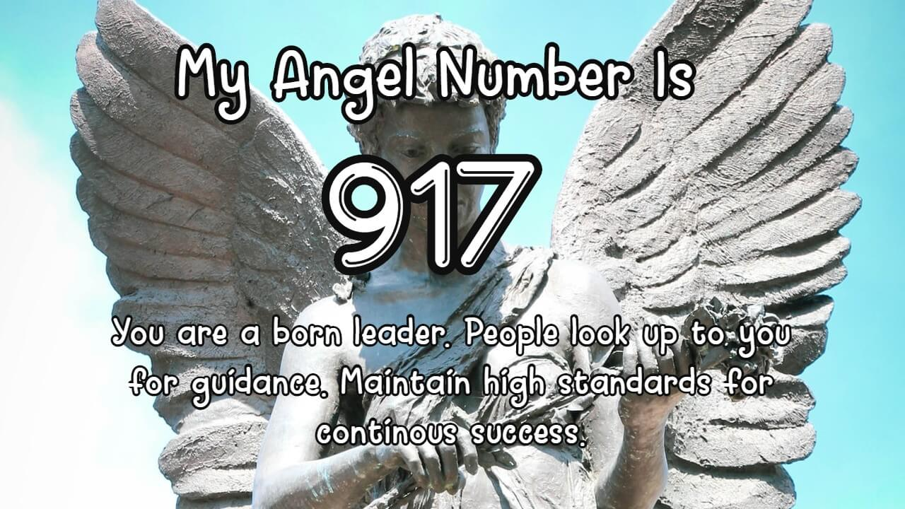 Angel Number 917 And Its Meaning