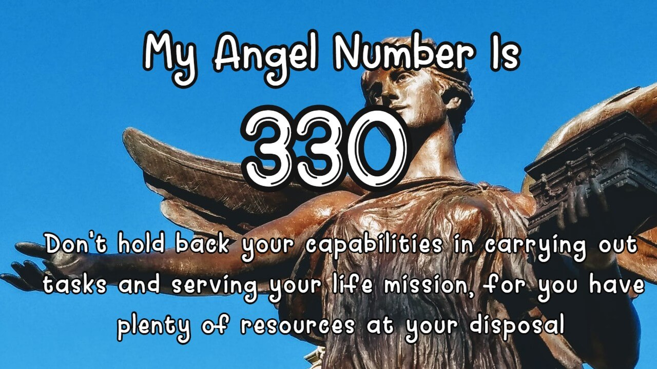 Angel Number 330 And Its Meaning