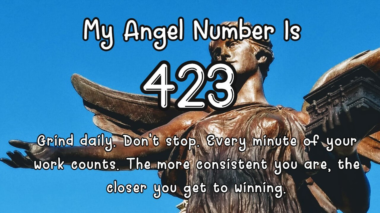 Your angels are sending you this message with Angel Number 423