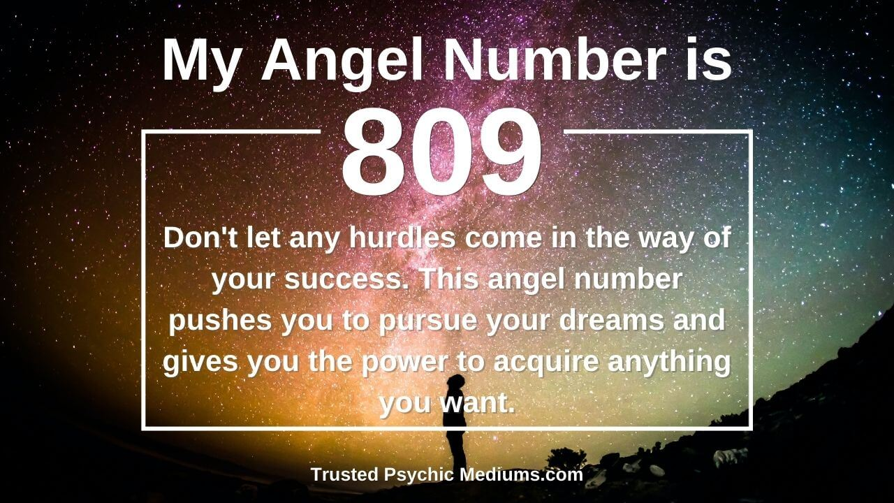 Not many people know these facts about Angel Number 809