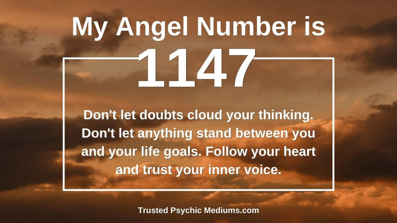 Most people think of Angel Number 1147 as unlucky. They are so wrong…