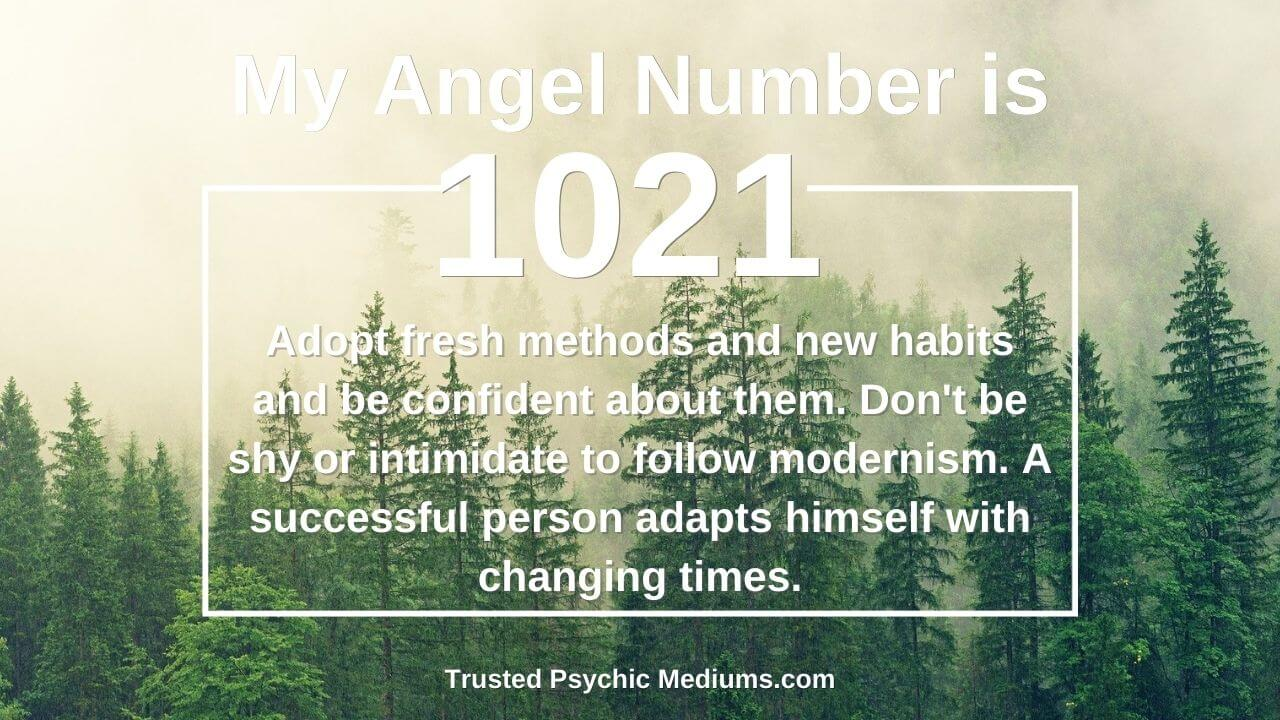 The secret and hidden meaning of angel number 1021 is shocking…