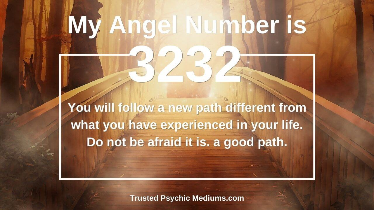 Your angels are sending you this message with Angel Number 3232