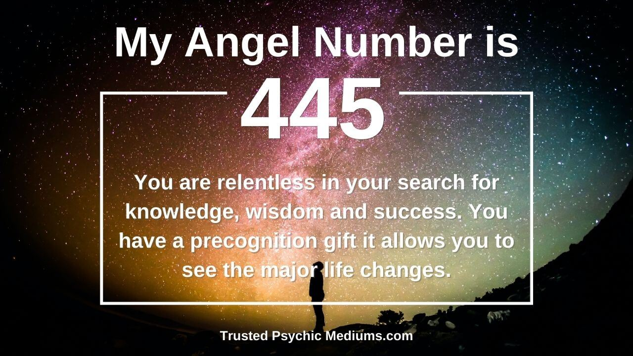 Angel Number 445 is true power; discover why…