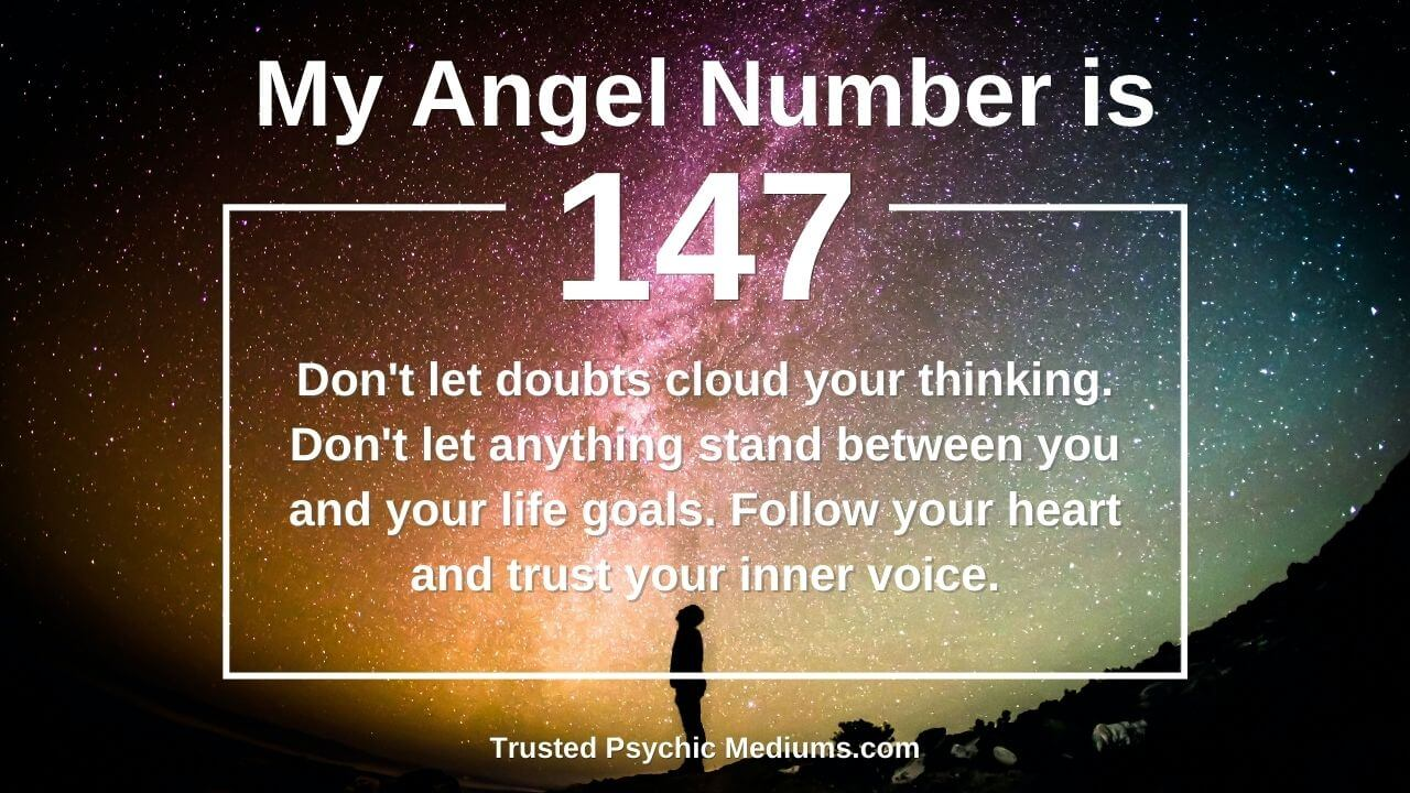 Angel Number 147 is a true power number. Learn how…