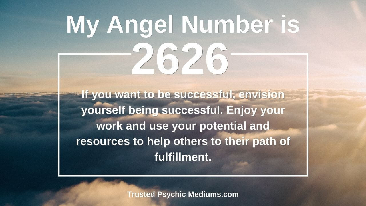 Embrace the light with Angel Number 2626