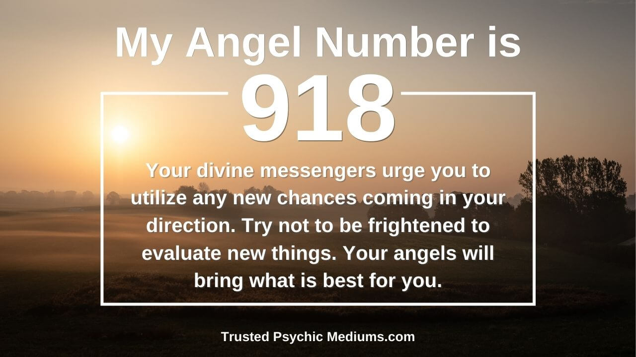 Angel Number 918 and its true meaning