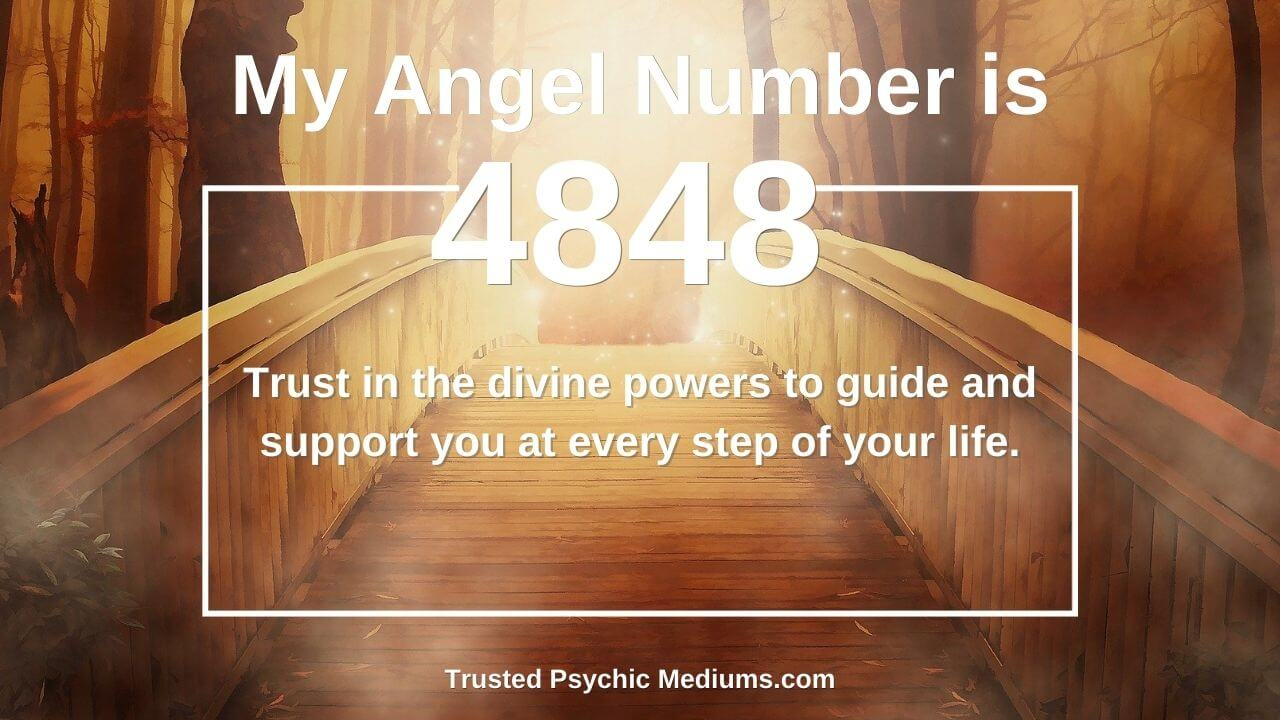 Angel Number 4848 and its meaning