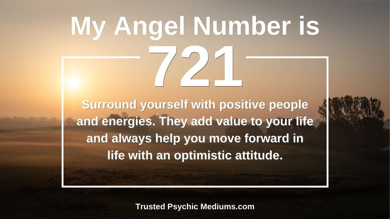 Angel Number 721 is a power number. Discover why…