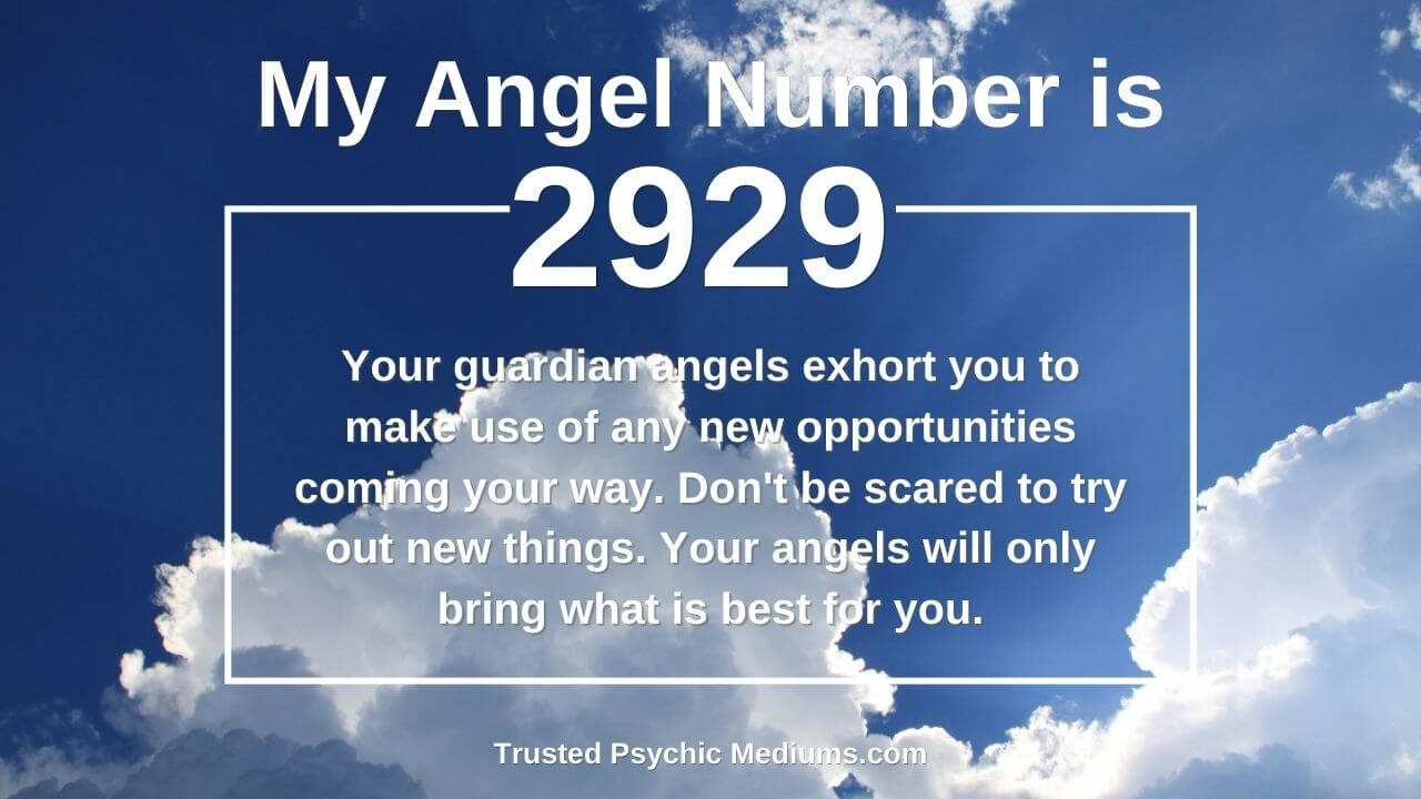 This is what it means if you keep seeing Angel Number 2929