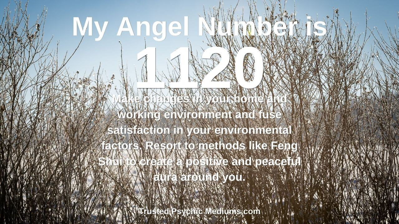 Angel Number 1120 has hidden powers. Discover the truth…