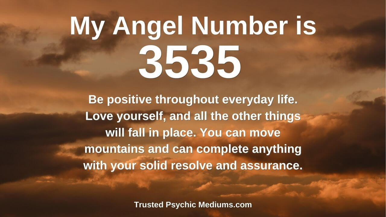 Angel Number 3535 and its effects on your life
