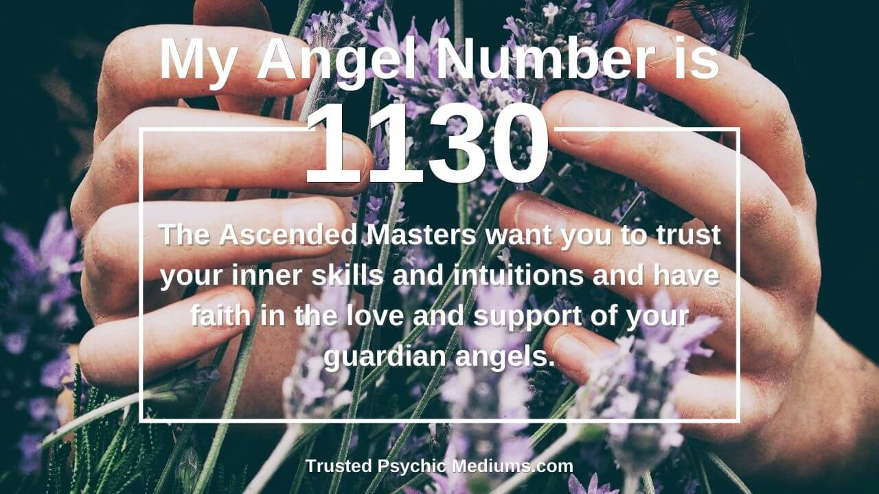 Angel Number 1130 and its meaning