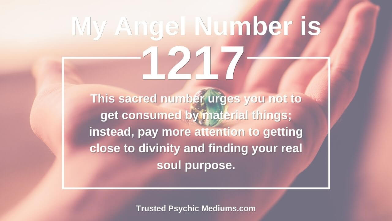Angel Number 1217 has a profound influence on your life. Learn how…