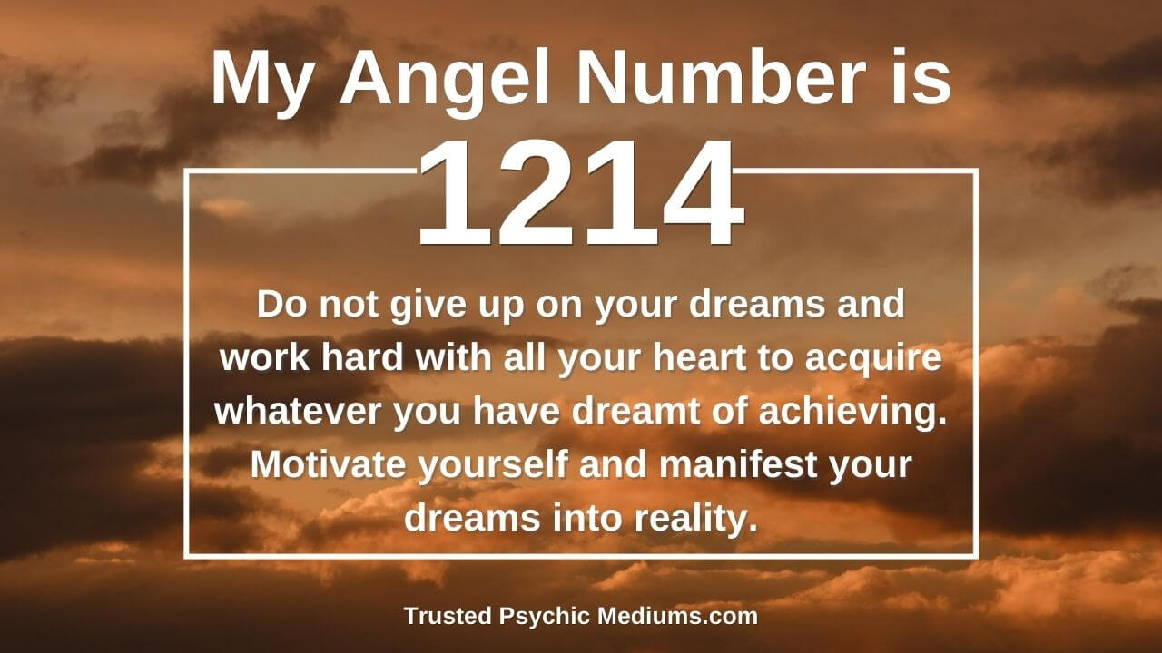 Angel Number 1214 and the lesser known facts and meanings