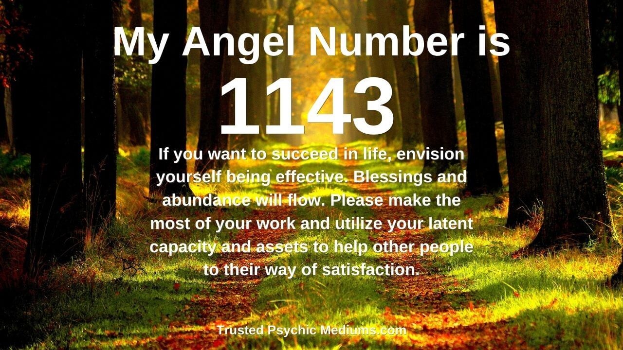 Do this immediately if you see Angel Number 1143