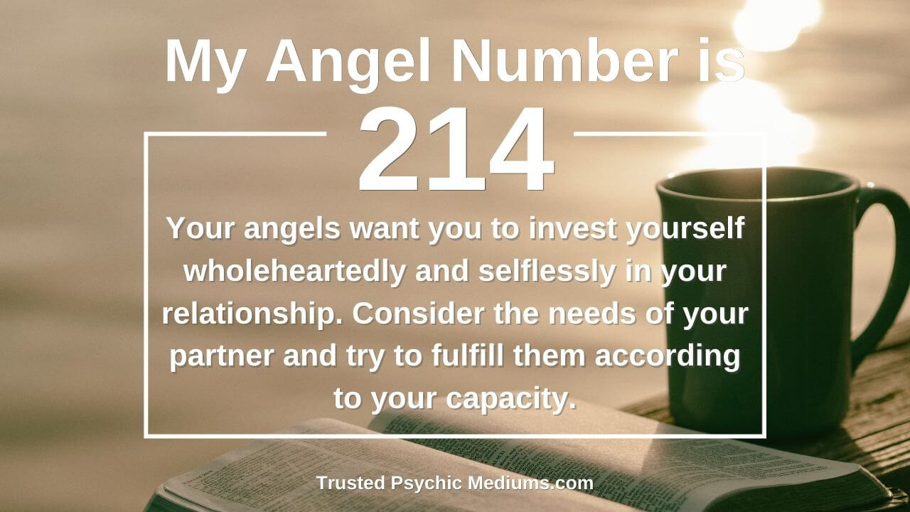 Angel Number 214 is quite powerful. Discover how…