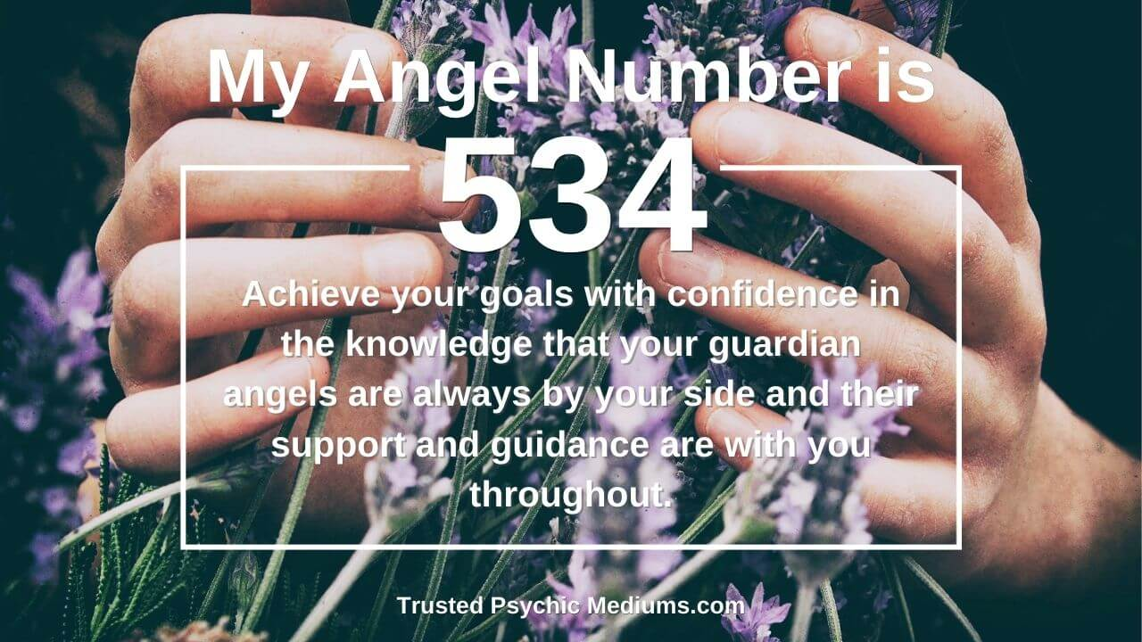 Angel Number 534 wants you to embrace love and light.