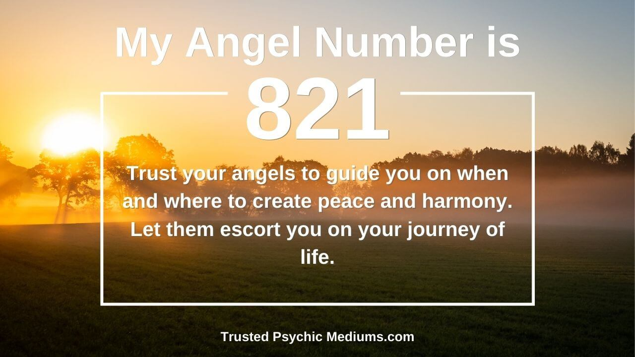 Angel Number 821 wants you to embrace the light. Learn how…