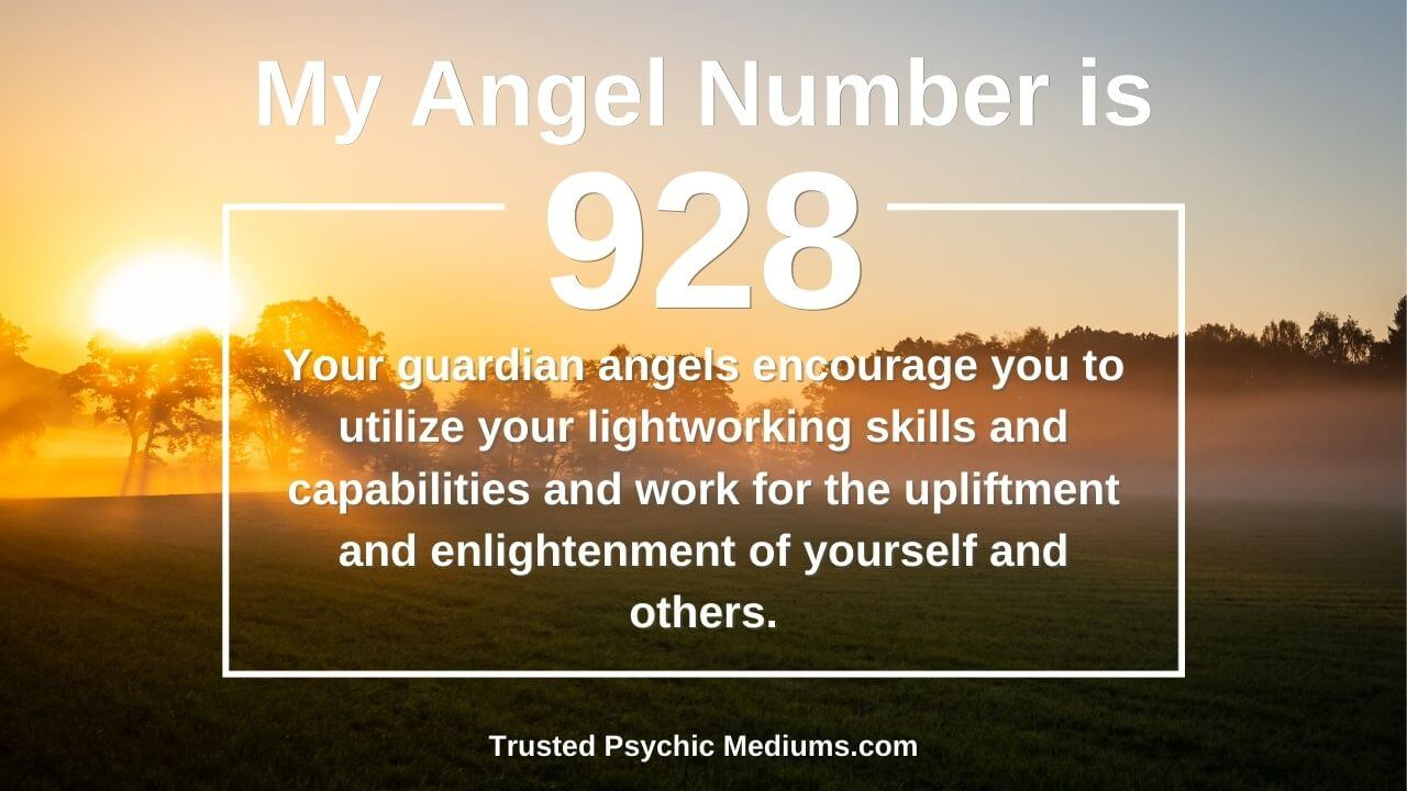Angel Number 928 has hidden powers. Find out why…