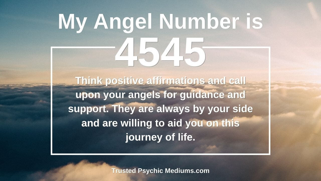 Angel Number 4545 is a true power number. Discover why…