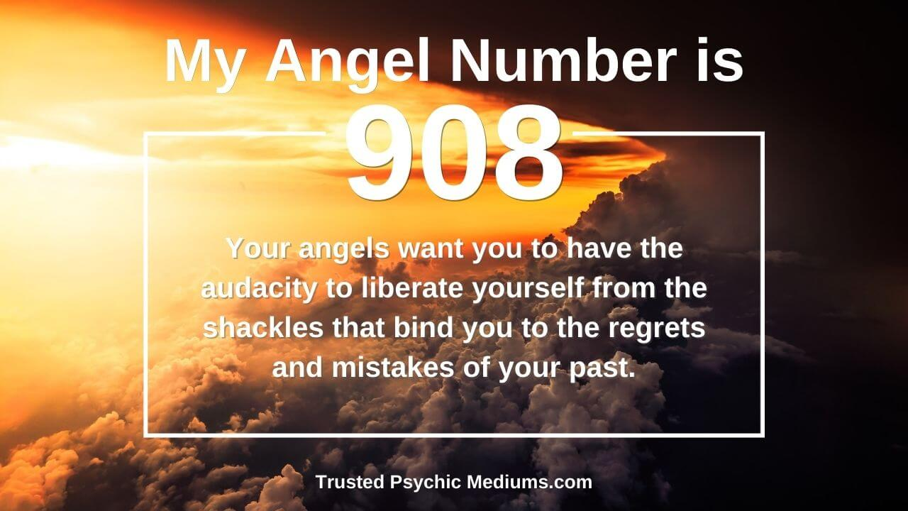 Angel Number 908 is a divine message from the angels. Learn why…