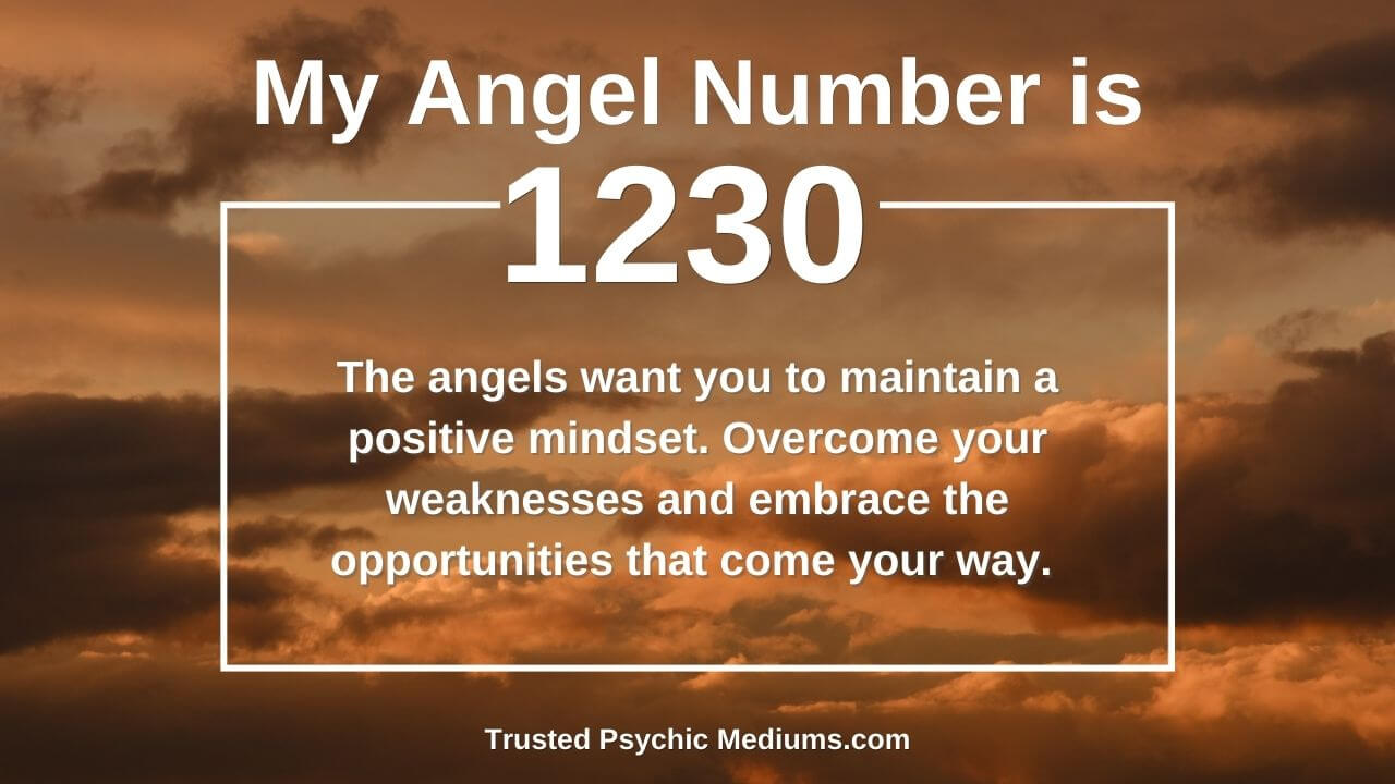 Angel Number 1230 is a true power number. Discover how…