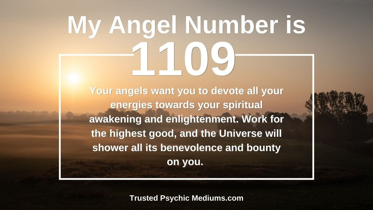 Angel Number 1109 wants you to embrace the light. Discover how…