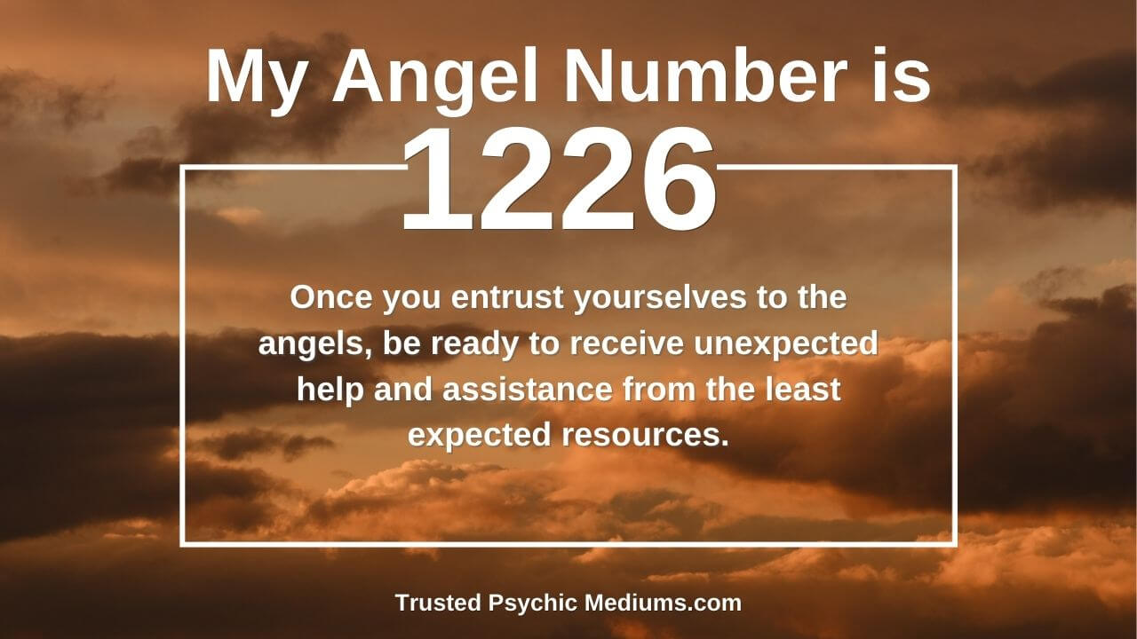 Angel Number 1226 has hidden powers. Discover the truth…