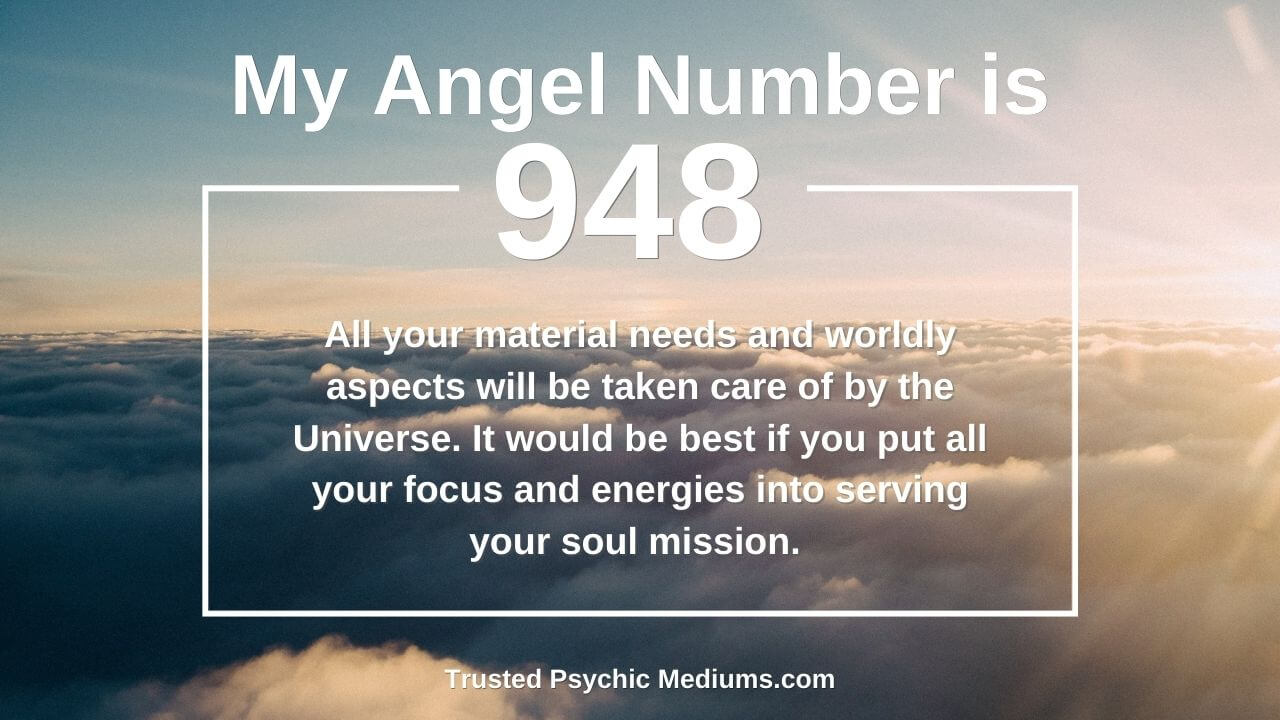 Angel Number 948 means that good times are coming. Learn why…