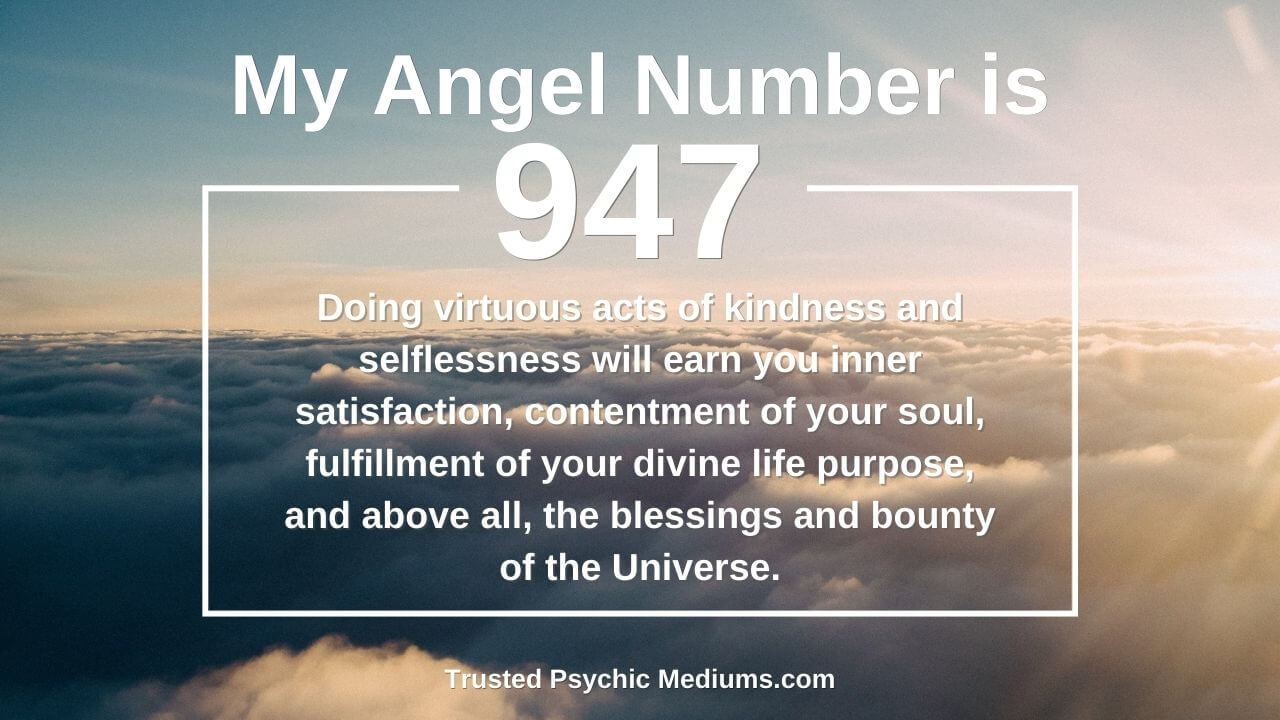 Angel Number 947 wants you to embrace the light. Learn how…