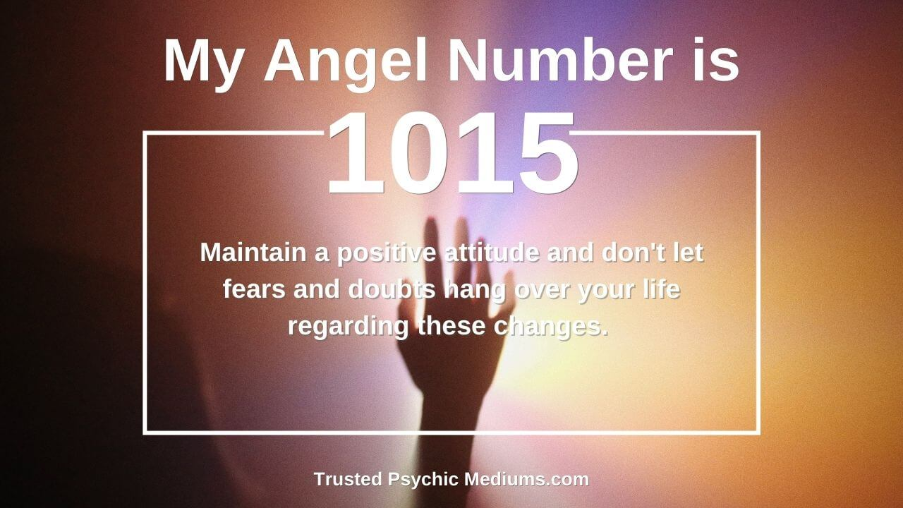 Angel Number 1015 is a sign of positivity coming to your life. Find out more…