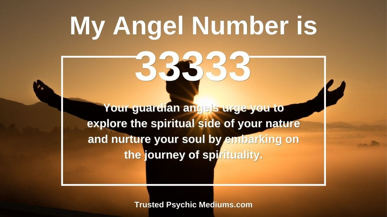 Angel number 33333 and it's meaning