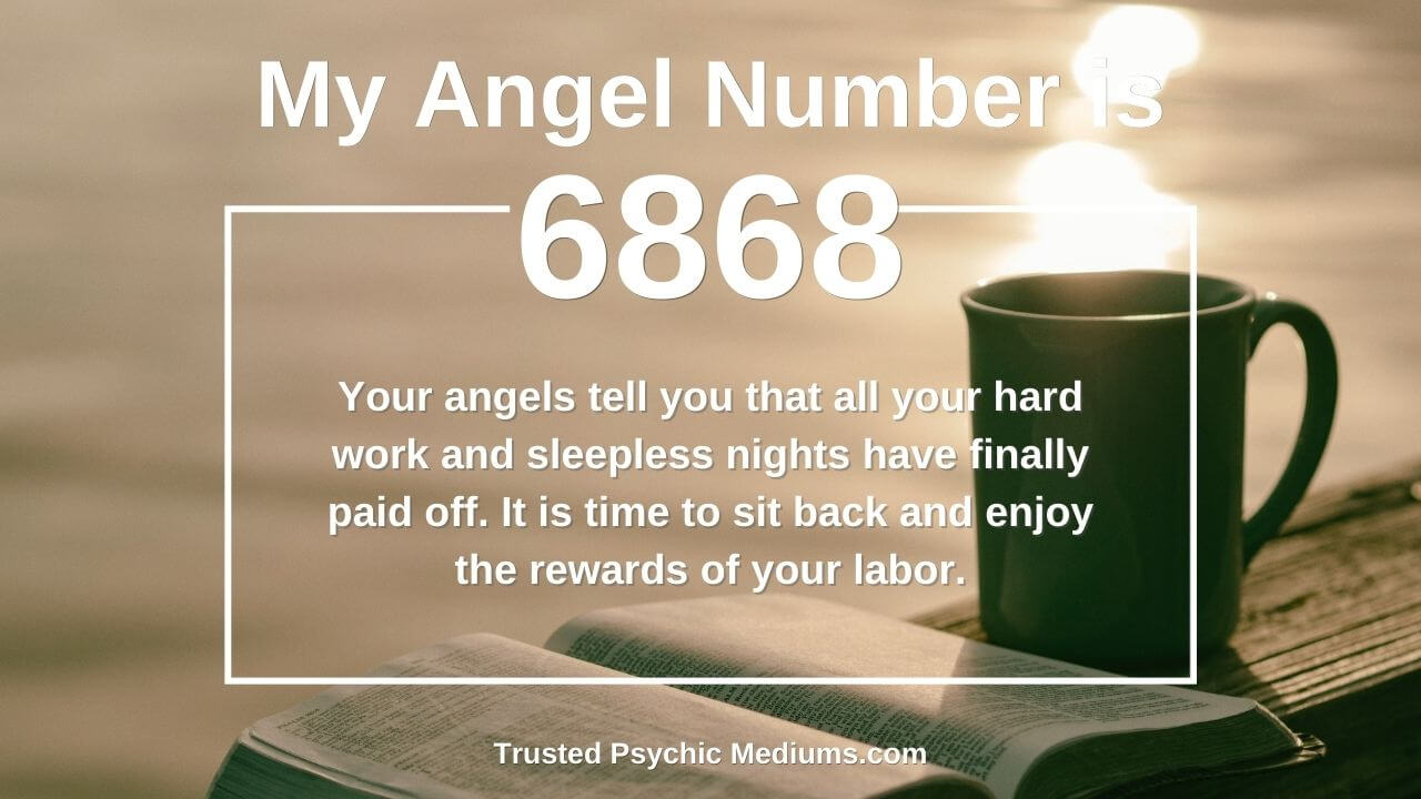 Angel number 6868 wants you to embrace the light. Learn how…