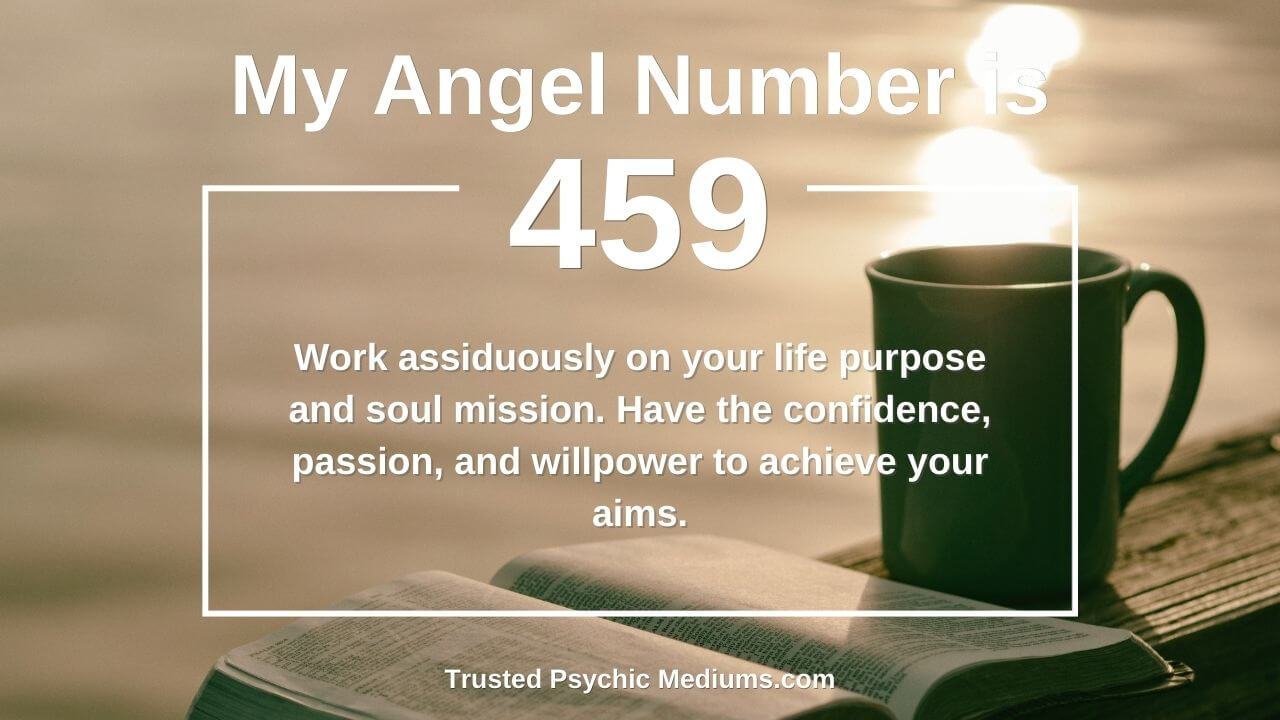 Angel Number 459 is a true power number. Discover how…