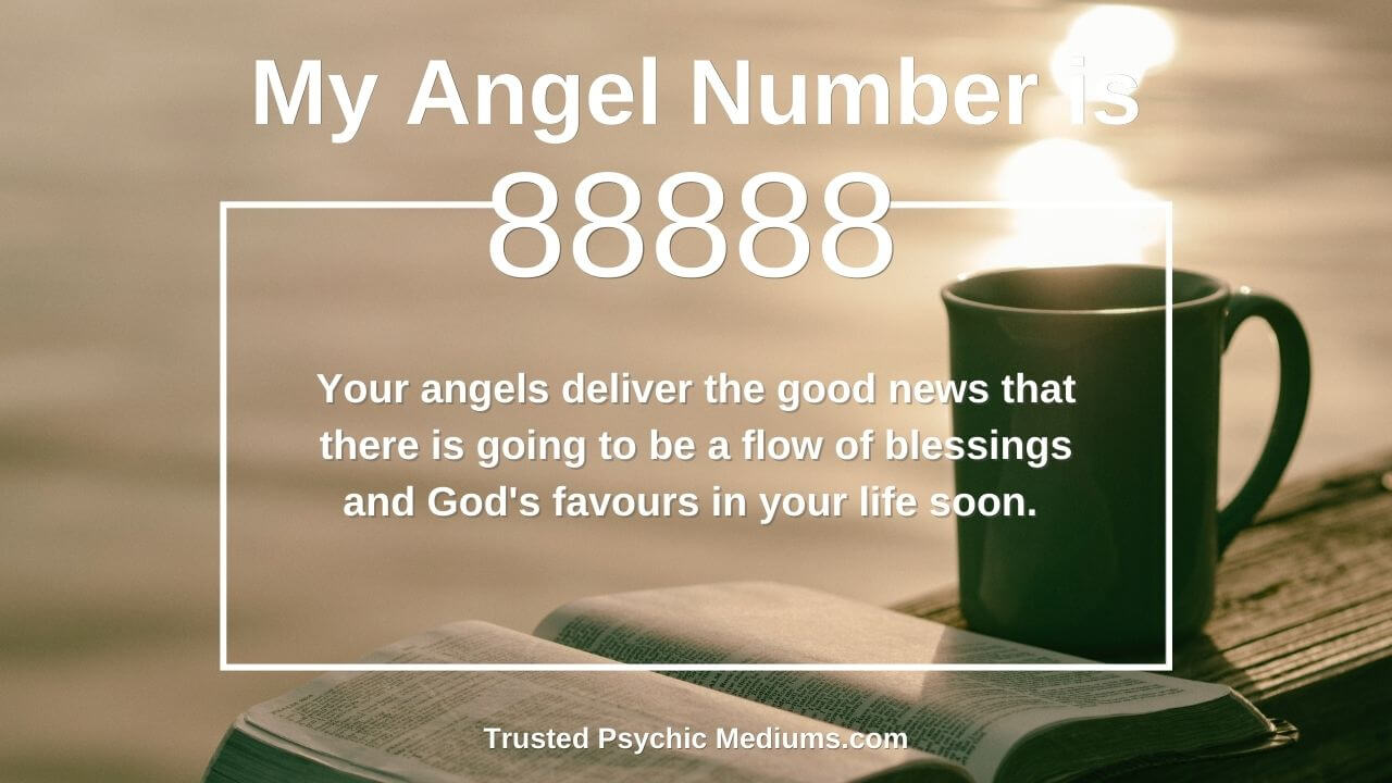 Angel number 88888 and it's meaning