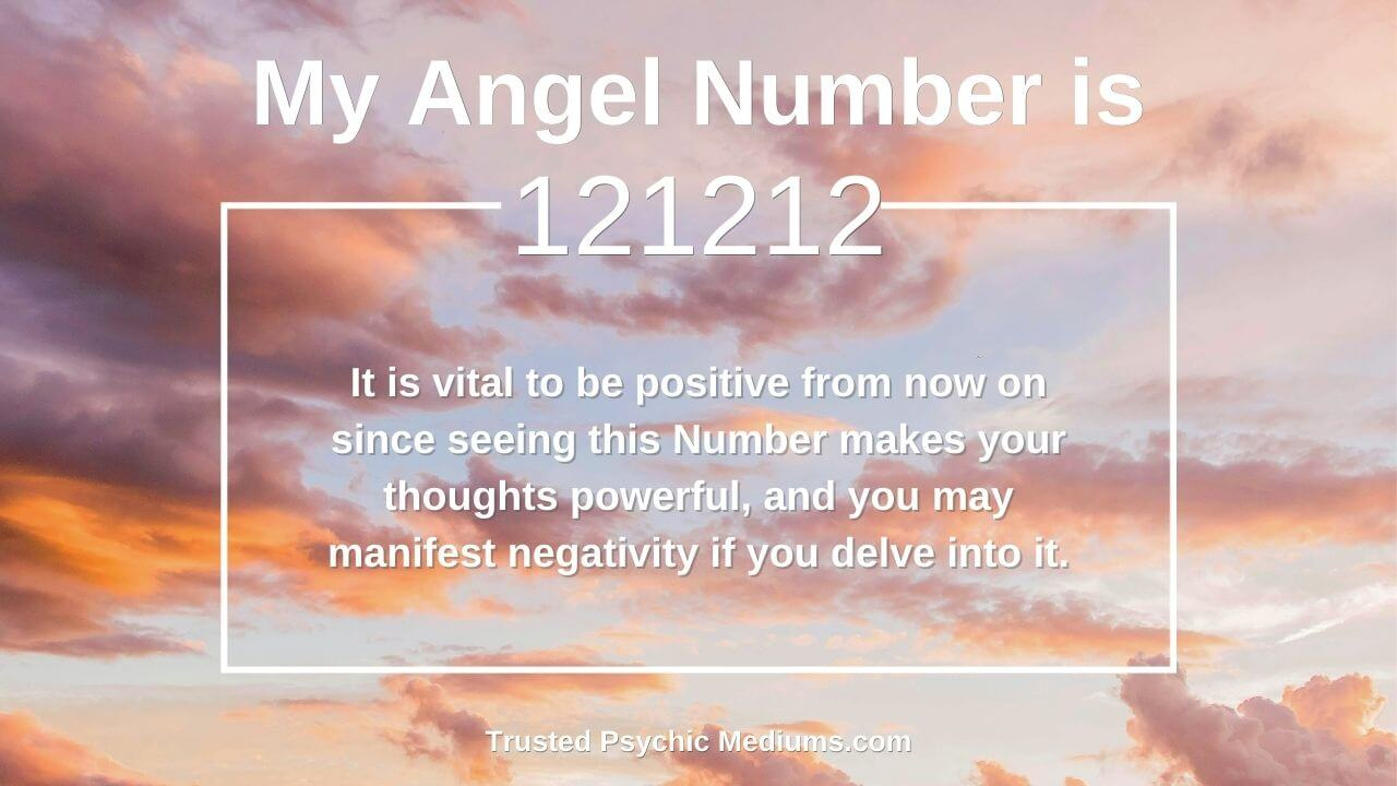 Angel Number 121212 and its meaning
